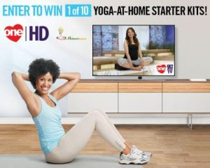 One Get Fit – Yoga At Home – Win 1 of 10 Yoga-at-Home Starter kits