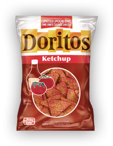 PepsiCo Canada – Doritos Ketchup Collection – Win 1 of 5 grand prizes valued at $360 CAD each OR 1 of 15 Weekly prizes