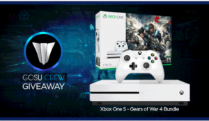 The Gosu Crew – Win an Xbox One S Gears of War 4 Bundle