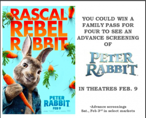 Tribute Publishing – Win 1 of 25 Family passes to see Peter Rabbit.png
