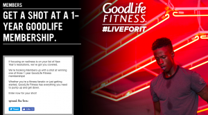 Virgin Mobile Canada – Win 1 of 3 prizes of a GoodLife One-Year Membership valued at $750 CAD each