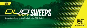 Wilson Sporting Goods – Wilson 2018 DUO Soft – Win a trip for 2 to Atlanta valued at $4,490 CAD