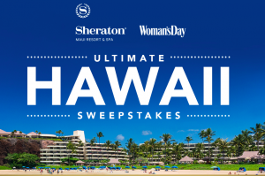 Woman's Day February 2018 Ultimate Hawaii Getaway – Win a getaway prize package for 4 valued at $5,720