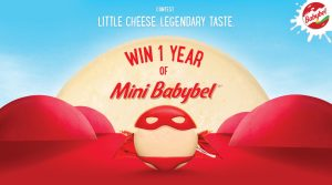 Babybel – Little Cheese. Legendary Taste – Win 1 of 15 prizes of a Year of Mini Babybel cheese each valued at $366 each