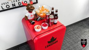 Canadian Olympic Committee – Win a Molson Canadian beer fridge valued at $300