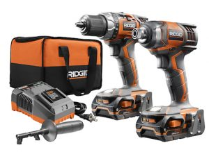 Canadian Woodworking – Win a new Ridgid Cordless Drill 18V and Impact Driver Combo Kit