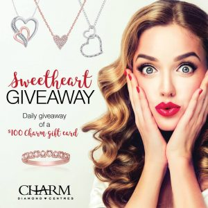 Charm Diamonds – Win a $100 Charm Diamonds Gift Card for Valentine's Day