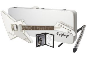 "Epiphone – Win a new LTd. Ed. Tommy Thayer ""White Lighting"" Explorer Outfit"