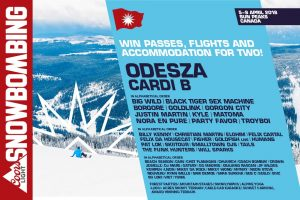 Exclaim – Coors Light Snowbombing Canada – Win a trip for 2 to see Cardi B and ODESZA