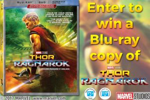 Exclaim – Thor: Ragnarok – Win 1 o 5 copies of Thor: Ragnarok on Blu-ray valued at $30 each