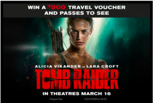 Exclaim – Tomb Raider – Win a grand prize of a Via Rail gift card valued at $500 OR 1 of 69 minor prizes