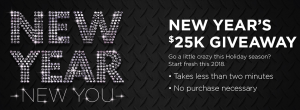 Go Auto – New Year New You – Win $25,000 cash