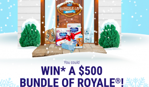 Irving Consumer Products – Royale Bundle Up – Win 1 of 10 bundles of Royale coupons valued at $500 each