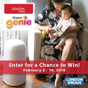 London Drugs – Win 1 of 3 prizes of one Diaper Genie Elite