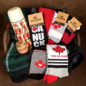 McGregor Socks – Win a gift basket full of Canadian themed items