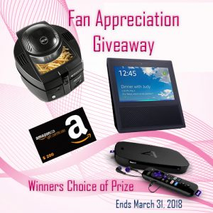 Moss Reviews – Fan Appreciation – Win a prize pack OR a $200 Amazon Gift Card