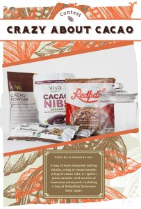 Redpath Sugar – Crazy for Cacao – Win a grand prize package