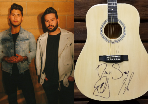 Sound Like Nashville – Win a guitar autographed by Dan + Shay valued at $250