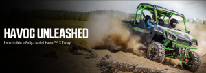 Textron Specialized Vehicles – Textron Off Road Havoc Launch – Win a Havoc vehicle valued at $17,799 USD OR 1 of 4 Motorfist gift cards