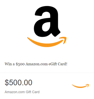 The Beat – Win a $500 Amazon Email Gift Card