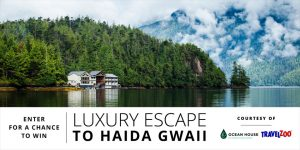 Travelzoo – Experience Ocean House – Win a 3-day trip for 2 to Stads Kuns Gawga valued at $8,820