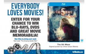 Tribute Publishing – Win 1 of 14 prizes including Blu-rays, DVDs and Great Movie Memorabilia