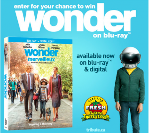 Tribute Publishing – Win 1 of 5 copies of WONDER on Blu-ray valued at over $29 each