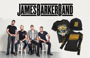 Universal Music Canada – Win a James Barker Bank Merch prize package valued at $200