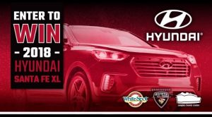 White Spot – Win a 2018 Hyundai Santa Fe XL valued at $45,000