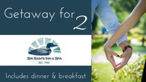 400Eleven – Win a getaway for 2 at Sir Sam's Inn & Spa