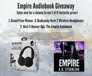 A.D. Starrling – Win a grand prize of a Skullcandy Hesh 2 Wireless Headphones OR 1 of 5 runners up prizes