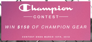 Boathouse Row Hamilton – Champion – Win $150 value of Champion product