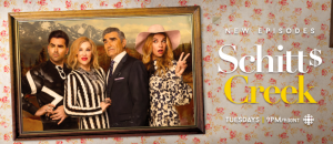 CBC – Schitt's Creek – Win a trip for 2 to Toronto, Ontario