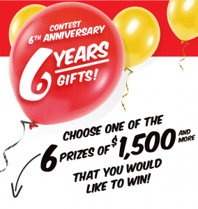 EconoMax – Win 1 of 6 prize packages valued at up to $1,786