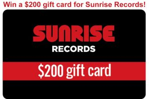 Exclaim – Win a $200 gift card for Sunrise Records