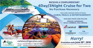 Fifty-Five Plus Magazine – Win a 4-day Cruise for 2