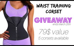 Fitmozine – Win 1 of 5 high quality waist training corsets valued at $79 each
