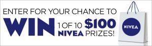 Groupe TVA – Nivea – Win 1 of 10 Nivea prize packs valued at $100 each