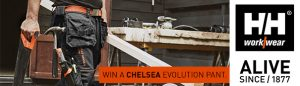 Helly Hansen – Chelsea Pant – Win 1 of 10 pairs of Helly Hansen Chelsea Construction Pants valued at $100 each
