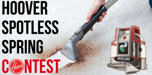 Hoover Canada – Win a Hoover Spotless Portable Carpet & Upholstery cleaner