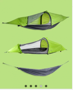 Indiegogo – Win a Flying Tent – an all in one hammock and tent valued at $389
