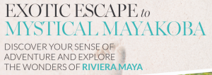 Interactive Wellness Group – Win a 4-night all-inclusive stay for 2 at Fairmont Mayakoba Resort valued at $3,750
