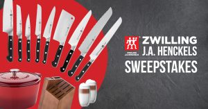 Kitchen Stuff Plus – Henckels Event Spring – Win a grand prize valued at $2,055 OR 1 of 2 minor prizes