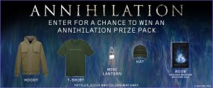 Landmark Cinemas Canada – Annihilation Web – Win 1 of 5 prize packs valued at $130 each