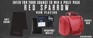 Landmark Cinemas Canada – Win 1 of 5 Red Sparrow prize packs valued at $72 each