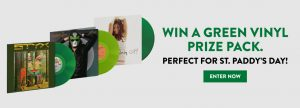 MusicVaultz & Universal Music Canada – Win 1 of 10 grand prize packages valued at $113 CDN each
