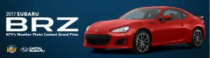 Newfoundland Broadcasting – The NTV Weather – Win a 2017 Subaru BRZ from Capital Subaru valued at $35,000