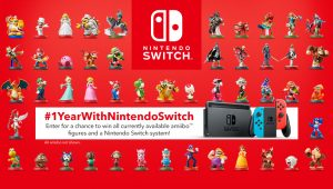 Nintendo of Canada – Win Nintendo Switch system & one full set of amiibo figures valued at $2,966