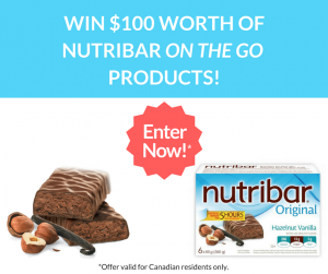 Nutribar – Win $100 worth of Nutribar on the go products