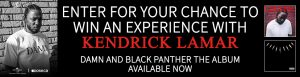 Obox Editions – Win a trip for 2 to Toronto & 2 tickets to see Kendrick Lamar performance